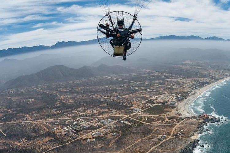 Aerial Photographer Paraglider