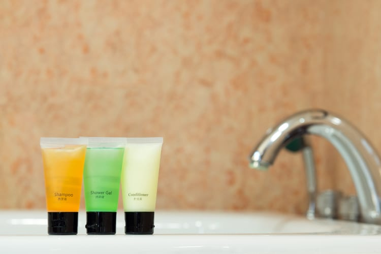 How To Use Hotel Toiletries