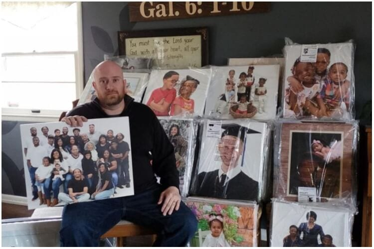 Man Reunites Owners With Their Photos Lost To Closed Printing Shop