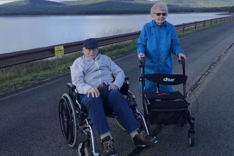 94-Year-Olds Fall In Love Coronavirus