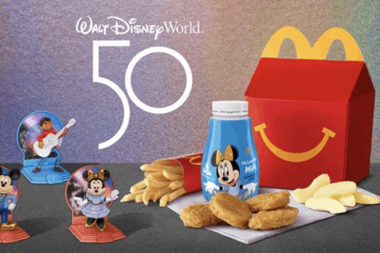 McDonald's Releasing New Disney-Themed Happy Meals Toys