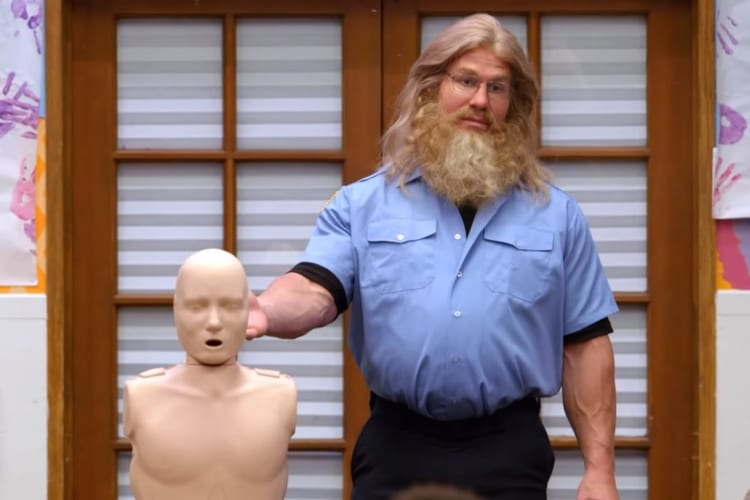 Nickelodeon Show CPR Saves Little Girl