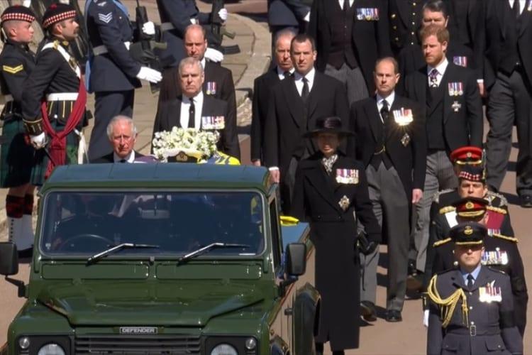 Royal Funerals 2021