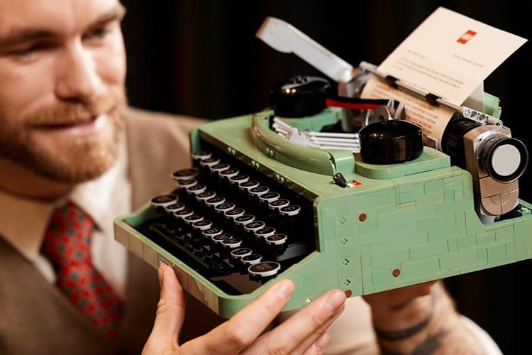 LEGO Typewriter Set