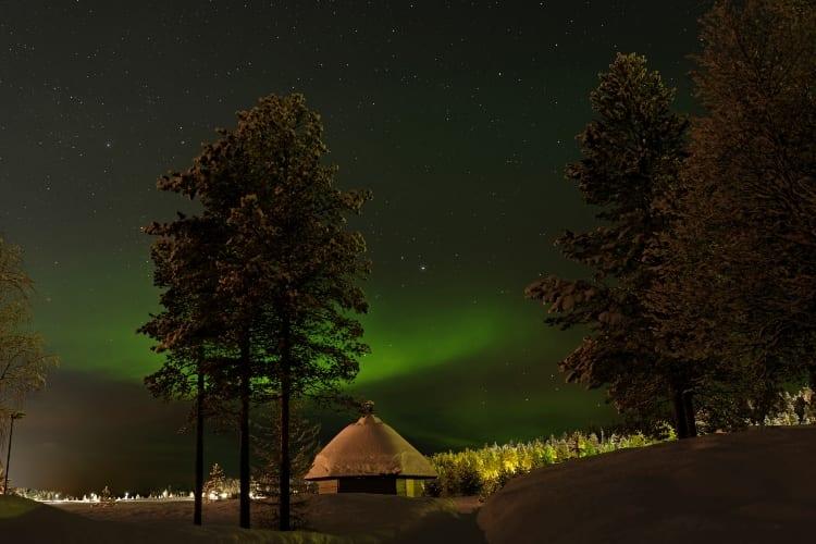 Aurora borealis Vacation